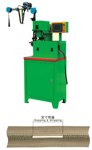 YFM-100MCA Auto Metal Gapping Machine By Computer Control
