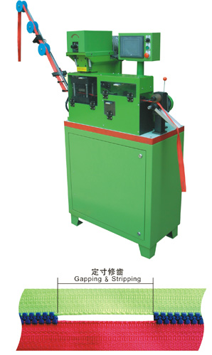 YFM-101DCA Auto Plastic Zipper Gapping Machine